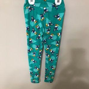 New Disney Lularoe kids leggings L/xl